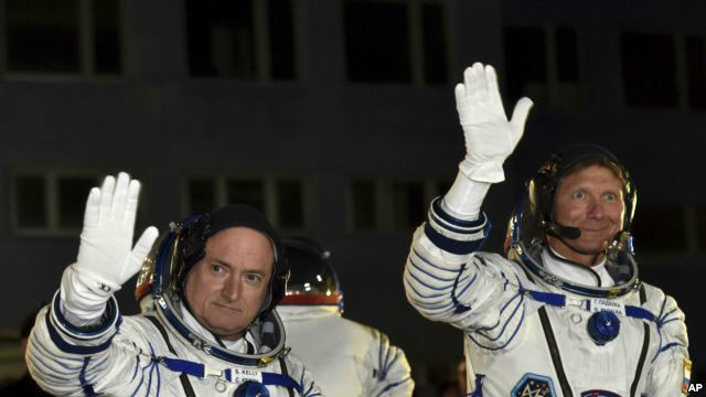 Russian, American Headed for Year in Space