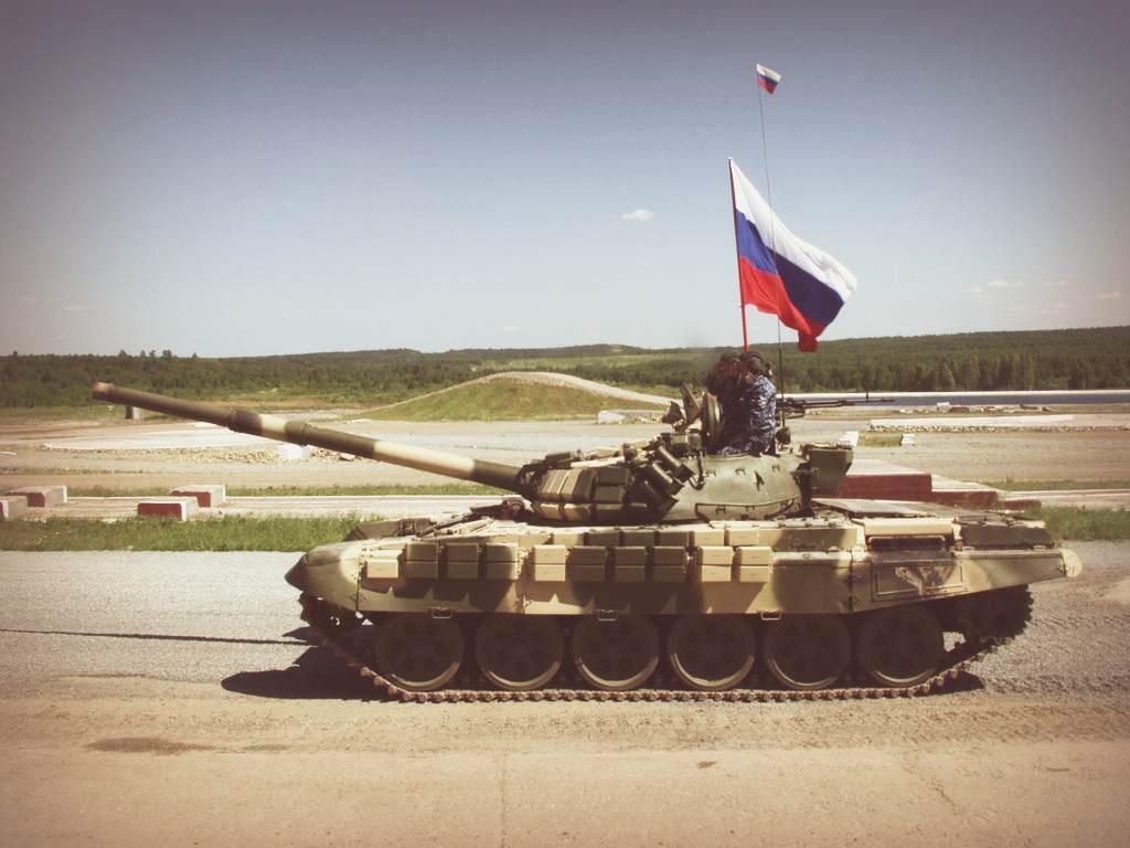 Militants filmed Ukrainian soldiers blowing up a terrorist tank. VIDEO
