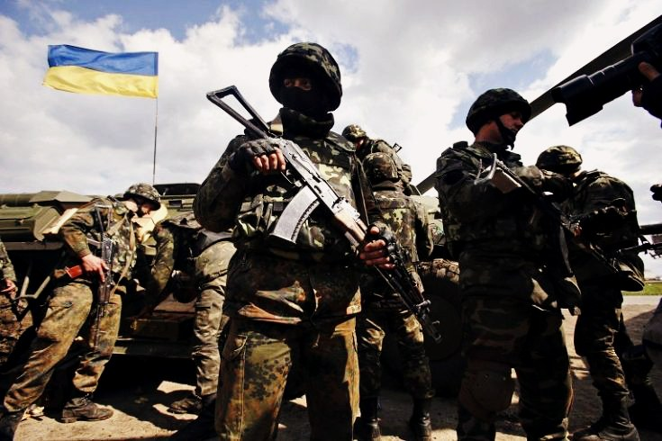 Four Ukrainian soldiers wounded, no one killed on May 9