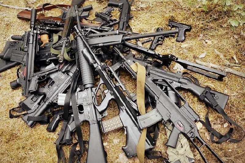 All 1900 heavy weapons evacuated from famous Artemivsk base