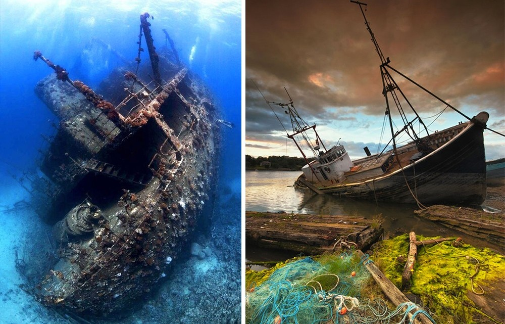 14 Beautiful Ships Which Found Lost And forgotten In The Seas (photos)