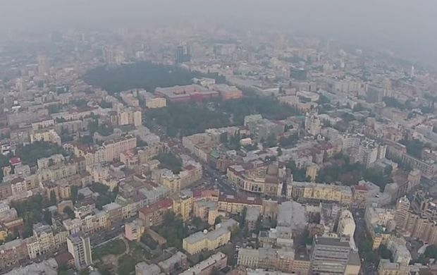Forest fires encircle Kyiv, sulfur dioxide levels exceed norm by 5.8 times — officials