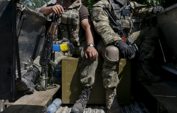 Two Ukrainian soldiers killed in military clash with terrorists in Luhansk area