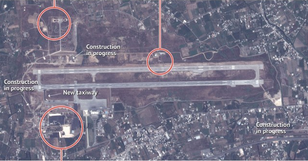 U.S. intelligence publishes satellite imagery of Russian base in Syria
