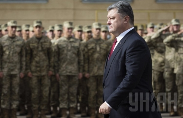 Poroshenko names condition for elections in Donetsk, Luhansk