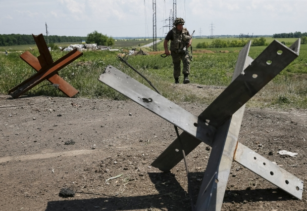 Sector «M»: Booby-trapped bodies found outside Donetsk