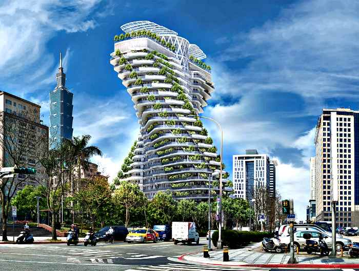 10 most bizarre buildings in the world, which are being built right now