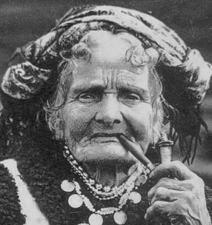 Carpathian hutsuls in retro photos