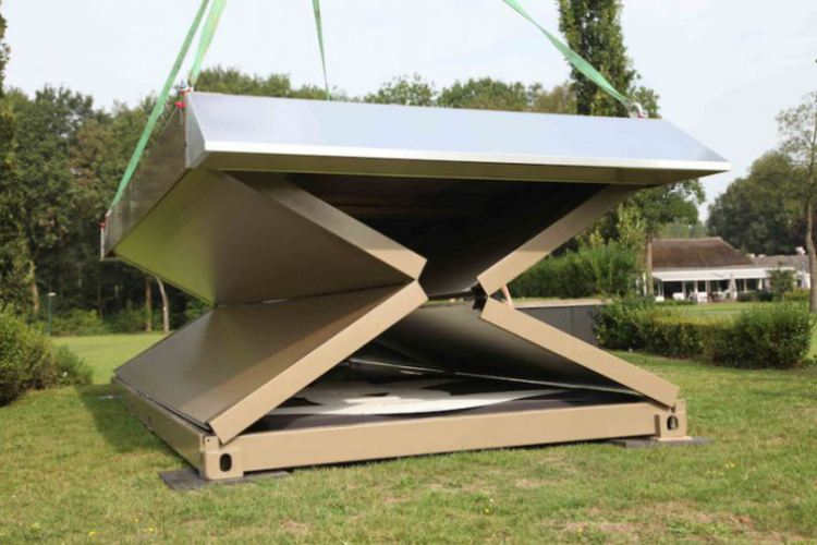 Flexotels Collapsible Micro Shelters Set Up in 10 Minutes