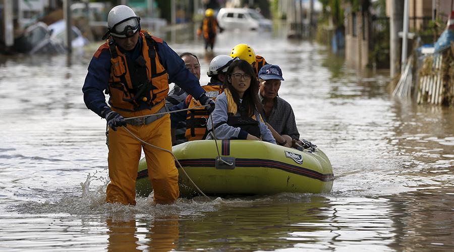 Tsunami-like flood leaves Japan reeling: 3 dead, 26 missing as 3rd emergency issued (PHOTOS)