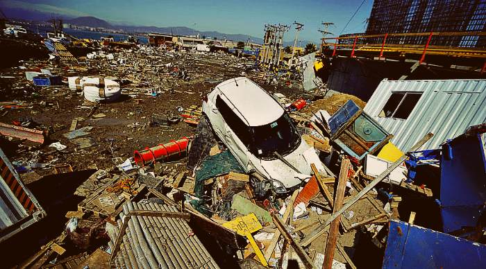 Looks like Japan 2011, ships on streets: Dramatic aerial shots of devastating Chile quake