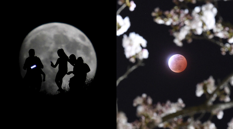 Double-stunner: Stargazers to see total lunar eclipse, super moon in 1 night, first in 30 years