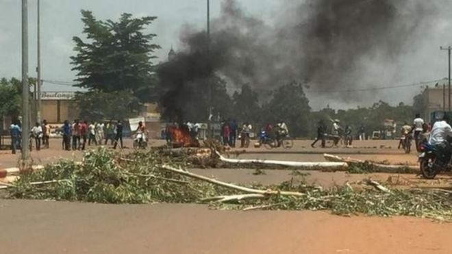 Burkina Faso coup: Compaore ally named ruler