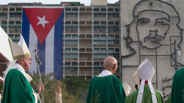 Cuba: Pope Francis meets Fidel Castro after Havana Mass (photos)