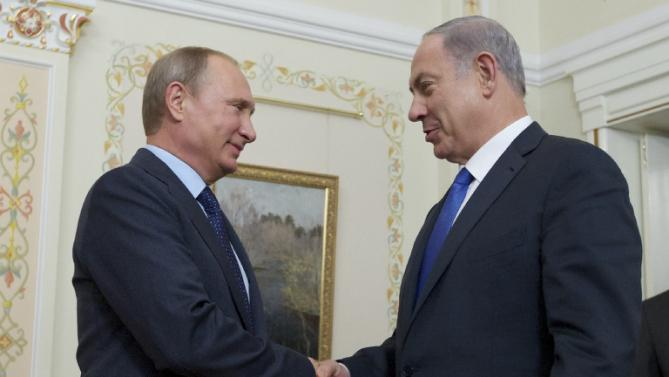 Israel's PM meets Putin in Moscow over Syria