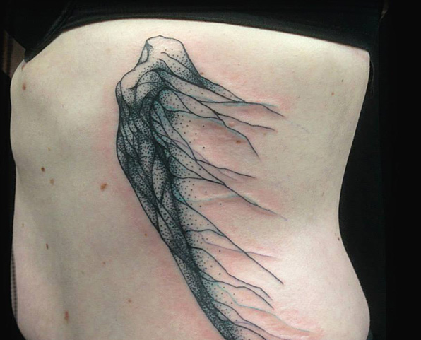 Nature-Inspired Tattoos That Flow Like Veins