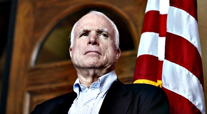McCain calls LPR imaginary country, urges to put down weapons