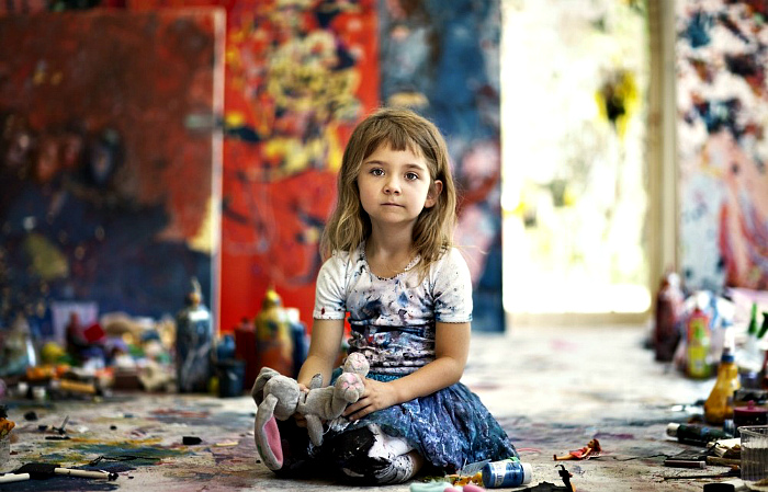 Aelita Andre — the youngest artist on the planet
