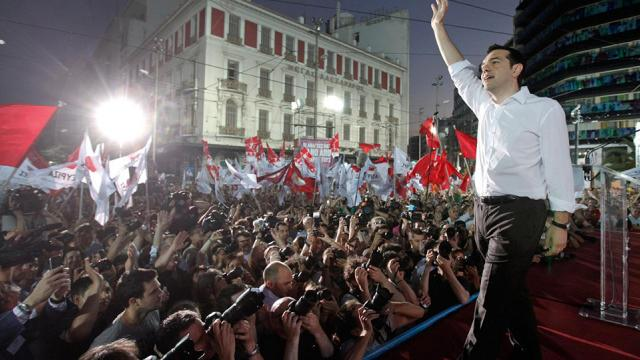 Greece's left-wing SYRIZA party wins 35.47% of vote in election