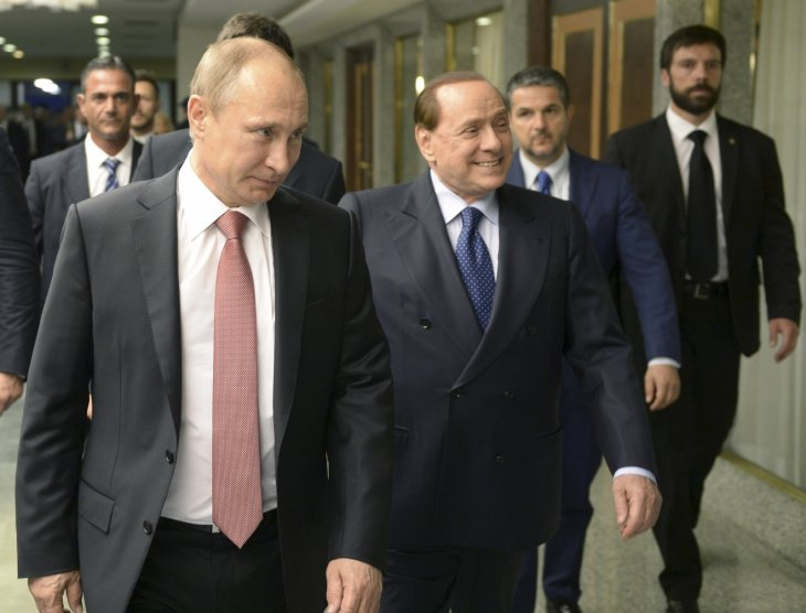 Ukraine Bans Silvio Berlusconi for Three Years After Crimea Visit: Reports