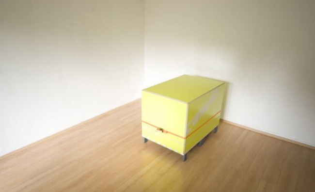 It Looks Like An Ordinary Box In A Room. But When It Opens… Genius!