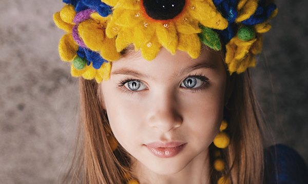 8-year-old Ukrainian became the most beautiful girl in the world (Photo+Video)