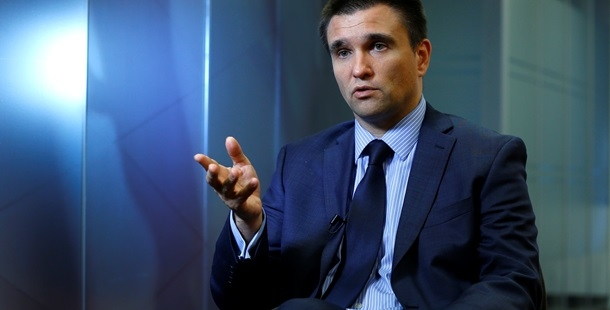 No country in world to wage war against Russia — Klimkin