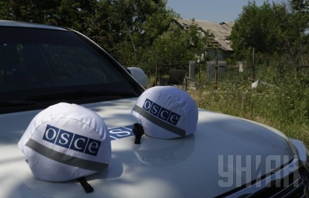 OSCE reports large number of heavy weapons in «DPR»