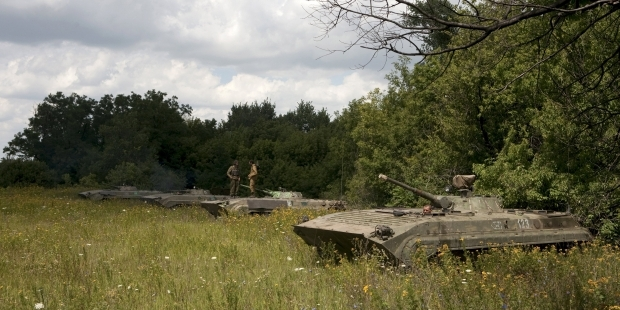 LPR withdraws light weapons, DPR to wait until October 18