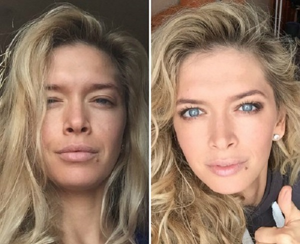 What is natural is not ugly: 15 sensational images Russian stars without makeup (Photo)