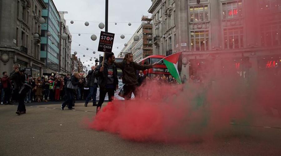 'Stop war crimes': London, Paris protest against Israeli treatment of pro-Palestine demonstrators