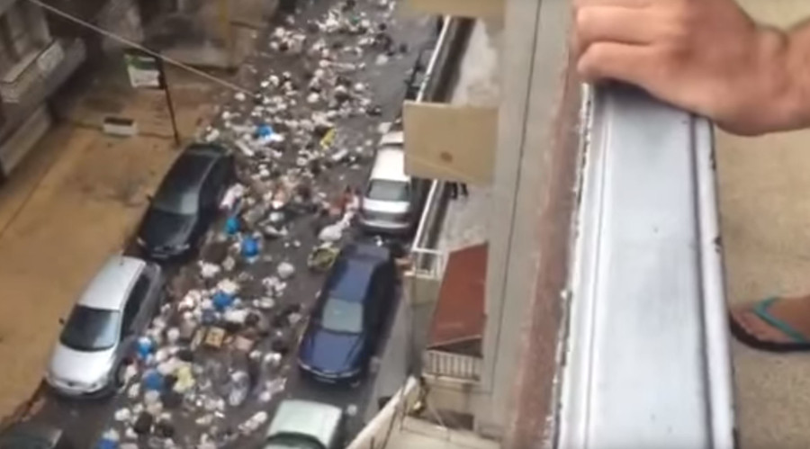Trash splash: Heavy rains over Beirut spawn rivers of garbage across capital