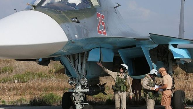 Syria 'near miss' prompts US-Russia air safety talks