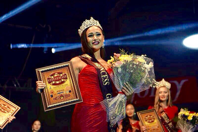 Beautiful girl from Mariupol became the «Princess of the World 2015» (Photo)
