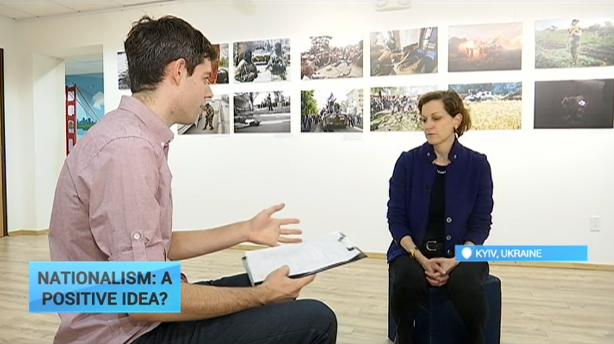Applebaum: 'Ukrainians reject Russian values after Putin's war'