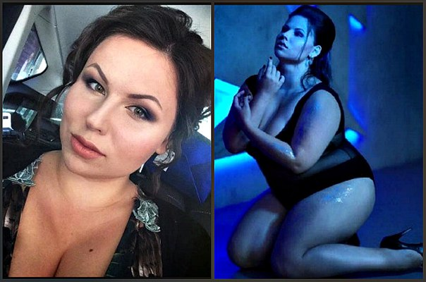 Officially, the 20-year-old student become the most beautiful fat girl in Russia (Photo)