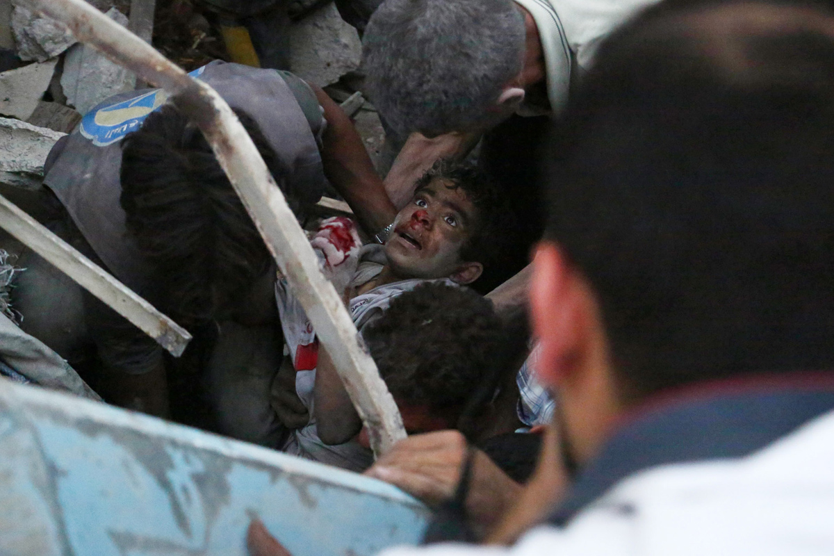Syrian children don't deserve such life or even death (PHOTO)