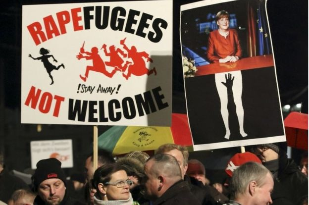 Germany Leipzig: hundreds arrested after far right rampage