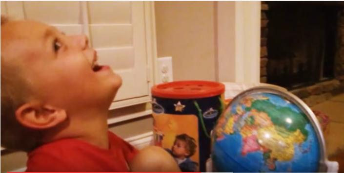 Kid Can't Stop Laughing at Vladimir Putin