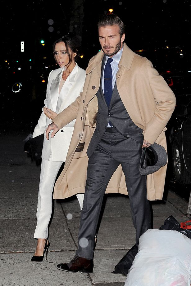 david and victoria beckham make a stylish duo for dinner party at anna wintour 39 s house world. Black Bedroom Furniture Sets. Home Design Ideas