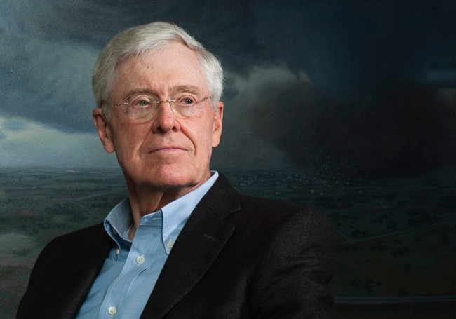 Charles Koch: Why I Didn't Try To Stop Donald Trump