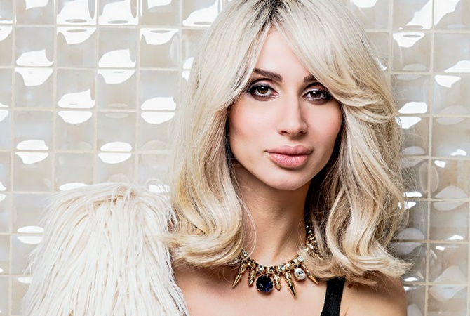Svetlana Loboda has a new hair colour