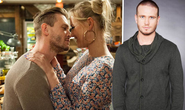 Emmerdale spoiler: David Metcalfe tries to kiss Tracy Shankley…but will she reciprocate?