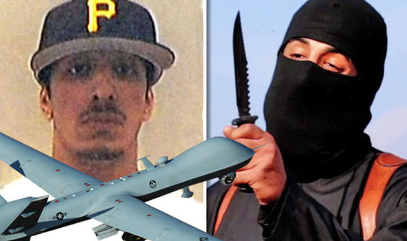 Jihadi John reduced to 'a greasy spot on the ground' when hit in Syrian drone strike