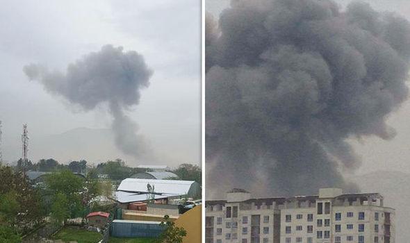 BREAKING: 'Dozens dead' after Taliban suicide blast near US embassy rocks city