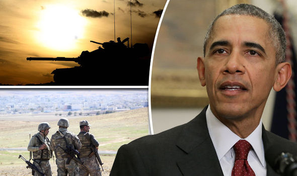 WAR ON ISIS: Obama marches extra troops into Syria in bid to WIPE OUT sick terror group