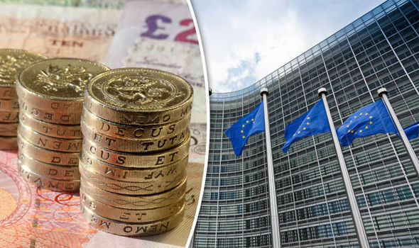 Taxpayers hit with £650 MILLION in fines by EU