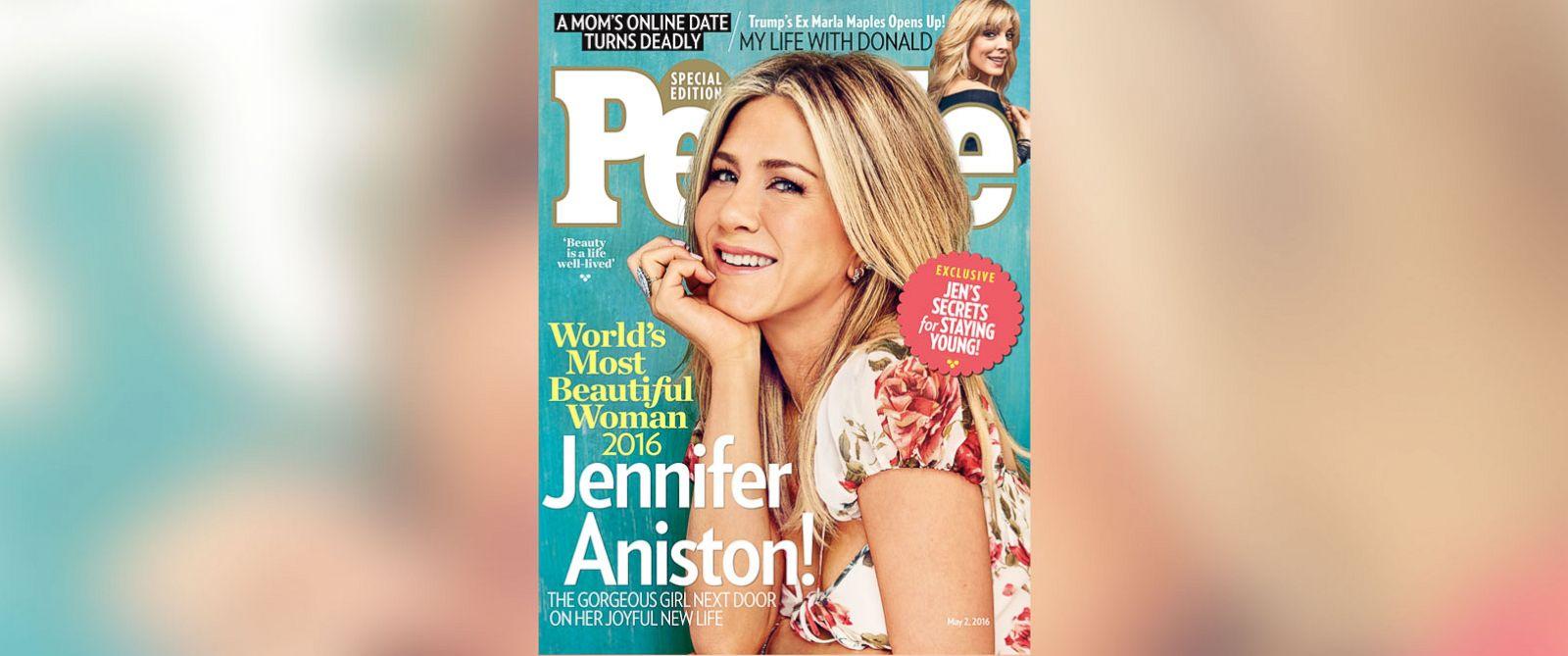 Jennifer Aniston Is People Magazine's 'World's Most Beautiful Woman'