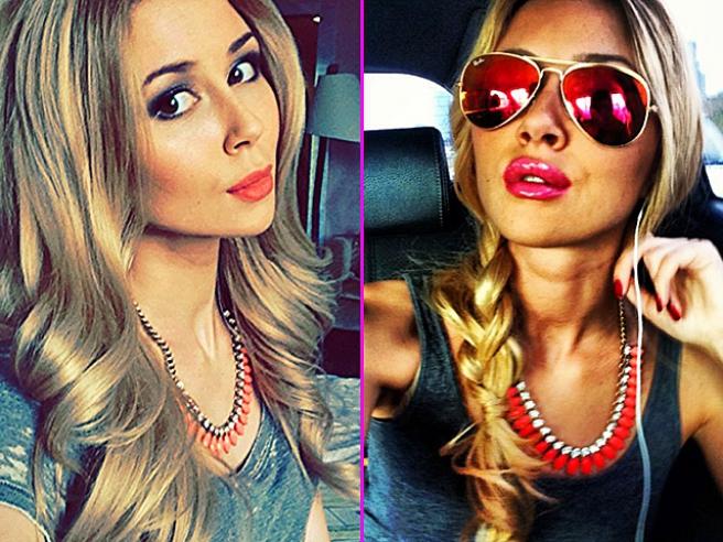The daughter Anastasia Zavorotnyuk showed her boyfriend