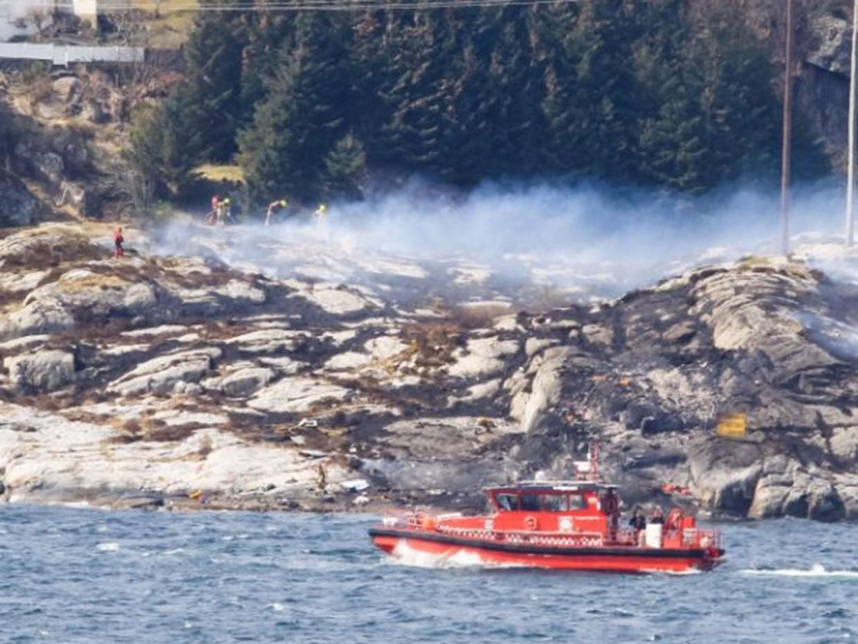 Norway helicopter crash: 11 killed near Bergen